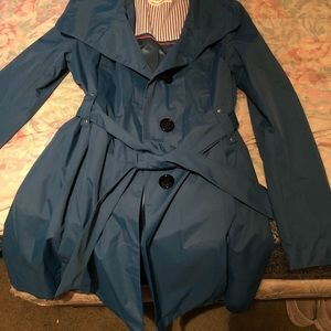 NWOT Steve Madden rain trench coat